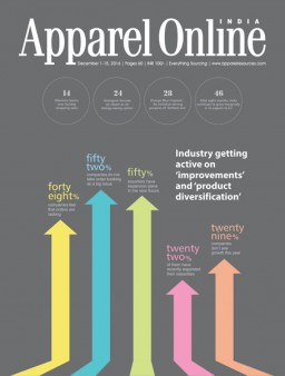 Apparel Online India December, 1-15, 2016