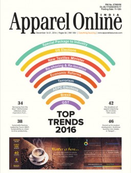 Apparel Online India December, 16-31, 2016