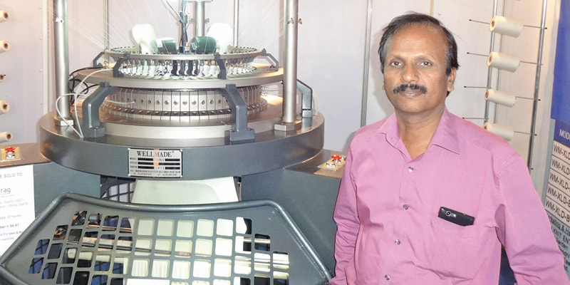 G. Muralidharan, General Manager, Wellknit Enterprises