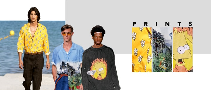 From Tie & Dye to The Simpsons: Print Trends for Menswear in Spring 2019