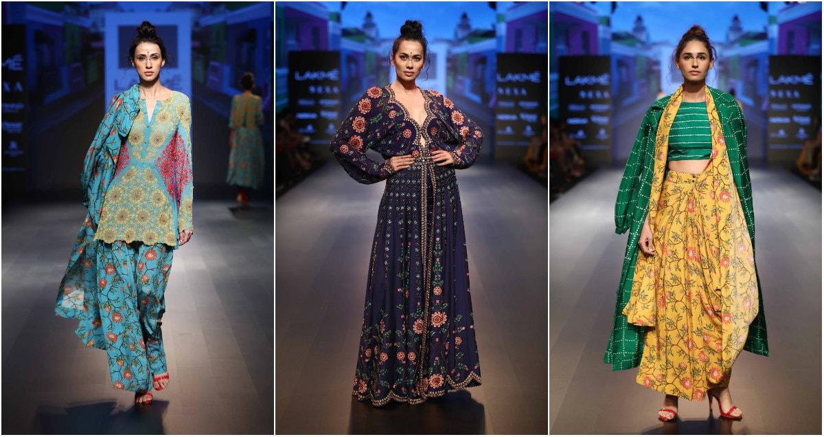 Nupur Kanoi at Lakme Fashion Week Winter Festive 2018